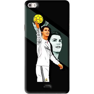 Snooky Printed I Win Mobile Back Cover For Micromax Canvas Sliver 5 Q450 - Multi