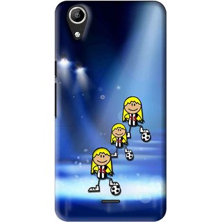 Snooky Printed Girls On Top Mobile Back Cover For Micromax Bolt Q338 - Multi