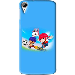 Snooky Printed Childhood Mobile Back Cover For HTC Desire 828 - Multi