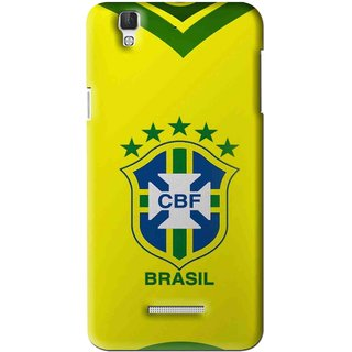 Snooky Printed Brasil Mobile Back Cover For Coolpad Dazen F2 - Multi