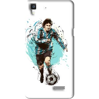Snooky Printed Have To Win Mobile Back Cover For Oppo R7 - Multi