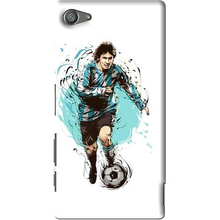 Snooky Printed Have To Win Mobile Back Cover For Sony Xperia Z5 Compact - Multi
