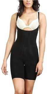 staywell black  body fit corset for women