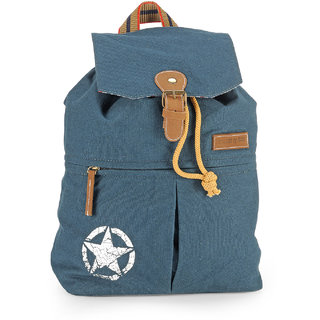 The House of Tara Canvas Backpack (Combat Blue) HTBP 122