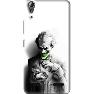 Snooky Printed Wilian Mobile Back Cover For Lenovo A6000 Plus - Multi