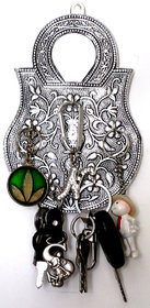 Handmade Decorative Wall mounted Key Stand/Holder - Assorted Designs - 1 PC only