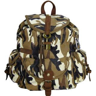 The House of Tara Go-Getter Backpack (Desert Camouflage)