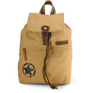 The House of Tara Canvas Backpack (Desert Sand) HTBP 124