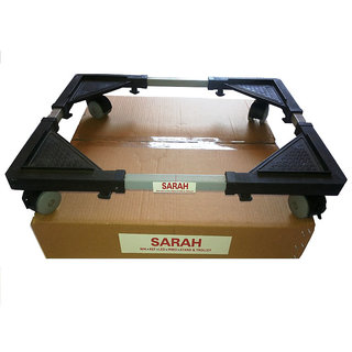 SARAH Adjustable Semi Automatic Top Loading Washing Machine Trolley / Stand -SAT 101