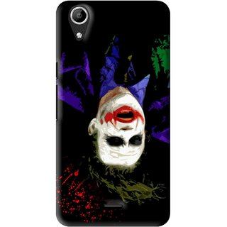 Snooky Printed Hanging Joker Mobile Back Cover For Micromax Bolt Q338 - Multi