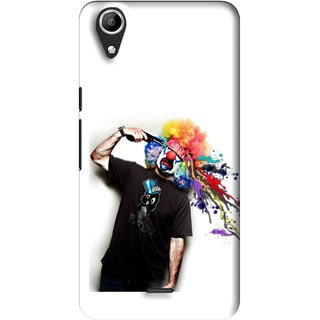 Snooky Printed Shooting Joker Mobile Back Cover For Micromax Bolt Q338 - Multi