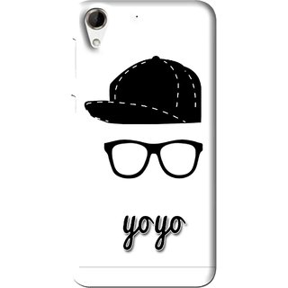 Snooky Printed Yo Yo Mobile Back Cover For HTC Desire 728 - Multi