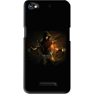 Snooky Printed Dancing Boy Mobile Back Cover For Micromax Canvas Hue 2 - Multi