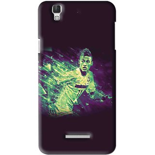 Snooky Printed Running Boy Mobile Back Cover For Coolpad Dazen F2 - Multi