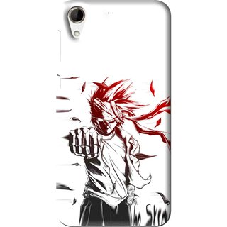 Snooky Printed Marshalat Mobile Back Cover For HTC Desire 728 - Multi