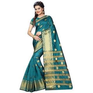 High Glitz Fashion  Womens Clothing jacquard design Sarees