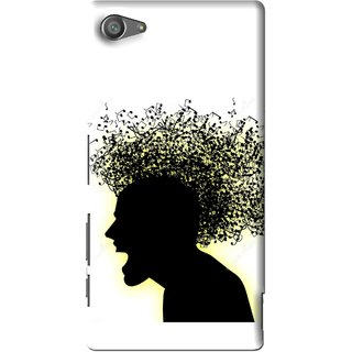 Snooky Printed Music Fond Mobile Back Cover For Sony Xperia Z5 Compact - Multi
