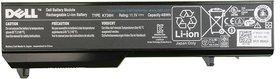 Dell K738H 6 Cell Laptop Battery