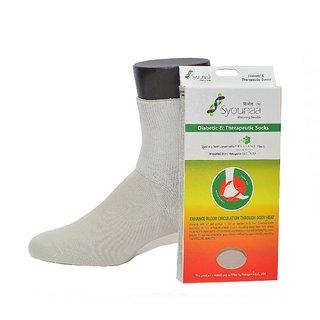 Syounaa Diabetic Therapeutic Socks (Medium)