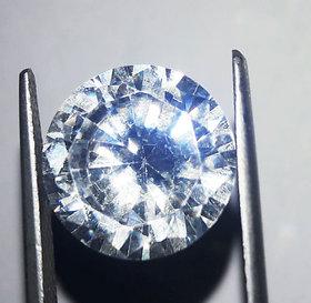 10mm 6.40ct/ 7.03 Ratti Round America Diamond Zircon loose gemstone substitute of Diamond
