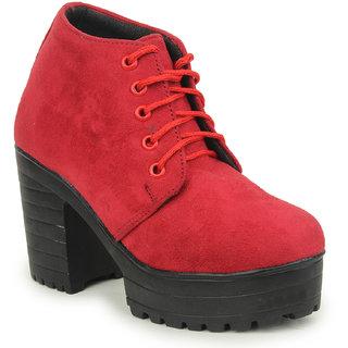 Skywalk Women Red Boots