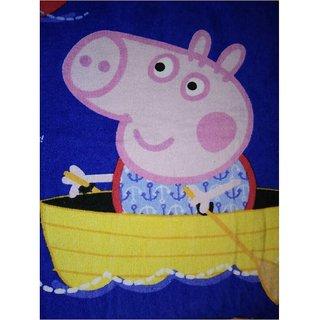 Sassoon Peppa Pig Cotton Soft Kids Bath Towel Size 60cm x 120cm - Multicolor