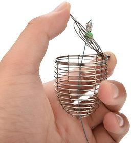 Futaba Fishing Lure Cage Bait Basket Feeder Holder Fishing Tackle - Small