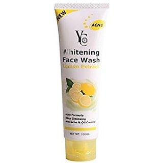 YC WHITENING FACE WASH (LEMON EXTRACT).