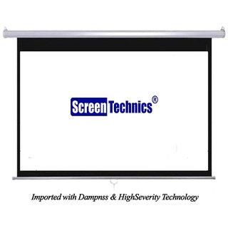 Screen Technics 5 x 7 instalock projector screen Premium Grade HD 3D Support
