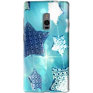 Snooky Printed Sparkling Stars Mobile Back Cover For OnePlus 2 - Multi