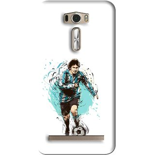 Snooky Printed Have To Win Mobile Back Cover For Asus Zenfone 2 Laser ZE601KL - White