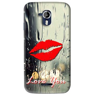 Snooky Printed Love You Mobile Back Cover For Micromax Canvas Magnus A117 - Multi
