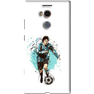 Snooky Printed Have To Win Mobile Back Cover For Gionee Elife E8 - White