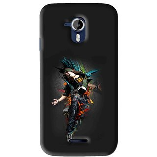 Snooky Printed Music Mania Mobile Back Cover For Micromax Canvas Magnus A117 - Multi
