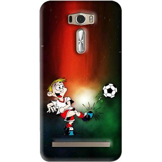 Snooky Printed My Passion Mobile Back Cover For Asus Zenfone 2 Laser ZE601KL - Multi