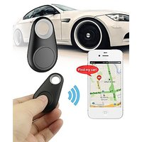 Lagom Bluetooth Tracer Anti-Lost Alarm Remote Shutter Voice Recorder GPS Tracker Black. Key Finder Locator Alarm For IOS