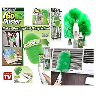 spinning Duster Portable Spinning Wet and Dry Duster Set for Home cleaning dust wiper