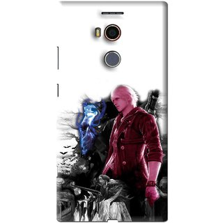 Snooky Printed Fighter Boy Mobile Back Cover For Gionee Elife E8 - Multi