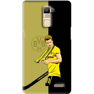 Snooky Printed Sports Player Mobile Back Cover For Oppo R7 Plus - Multi