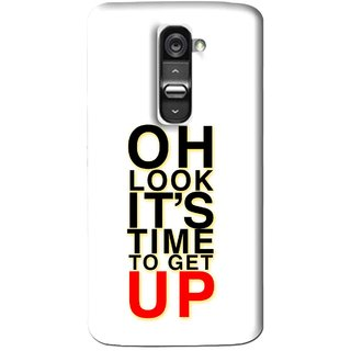 Snooky Printed Get Up Mobile Back Cover For Lg G2 - Multi
