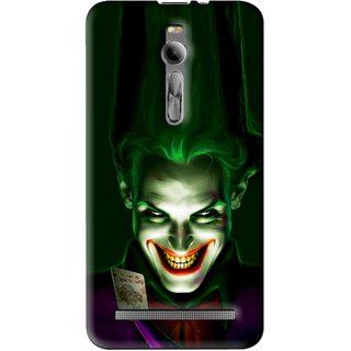 Snooky Printed Loughing Joker Mobile Back Cover For Asus Zenfone 2 - Multi