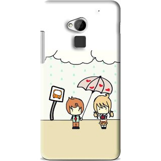 Snooky Printed Feelings in Love Mobile Back Cover For HTC One Max - Multi