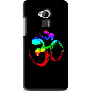 Snooky Printed Om Mobile Back Cover For HTC One Max - Multi