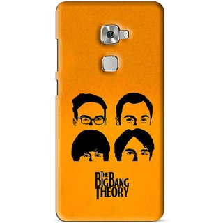 Snooky Printed Bigbang Mobile Back Cover For Huawei Mate S - Multi