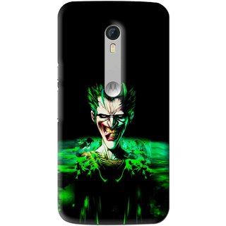 Snooky Printed Daring Joker Mobile Back Cover For Motorola Moto X Style - Multi