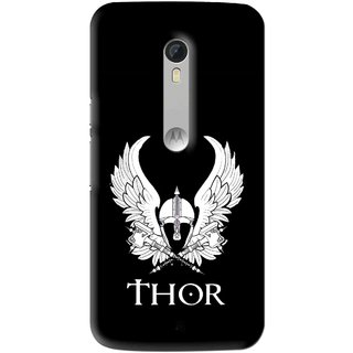 Snooky Printed The Thor Mobile Back Cover For Motorola Moto X Style - Multi