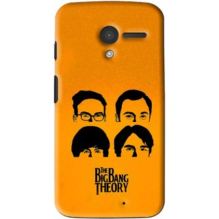 Snooky Printed Bigbang Mobile Back Cover For Moto X - Multi