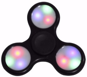 Fidget Spinner 3 LED Lights with On / Off Switch (Colour may vary)