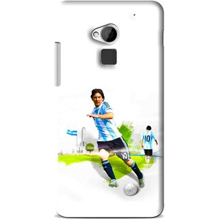 Snooky Printed Football Mania Mobile Back Cover For HTC One Max - Multi