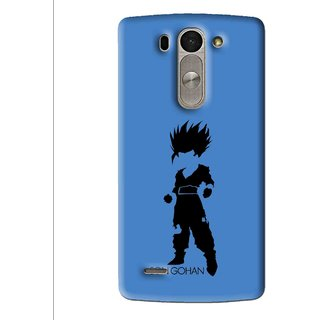Snooky Printed Son Gohan Mobile Back Cover For Lg G3 Beat D722k - Multi